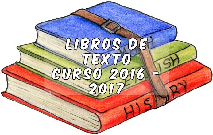 Libros de texto 2017-2018